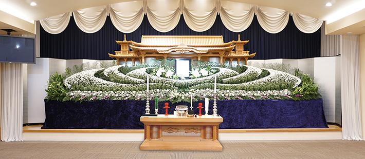 会館葬一般ホール180万円プランPHOTO