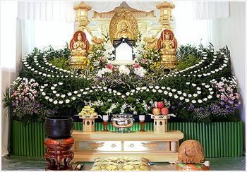 自宅葬・寺院葬 会員価格80万円(通常)プランPHOTO