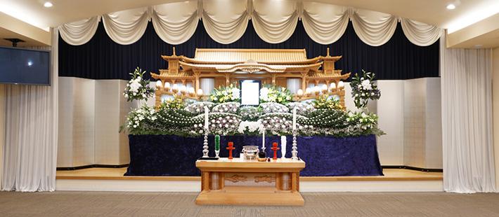 会館葬一般ホール130万円プランPHOTO