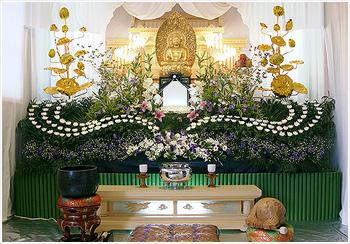自宅葬・寺院葬 会員価格65万円(通常)プランPHOTO