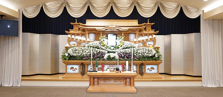 会館葬一般ホール98万円プランPHOTO