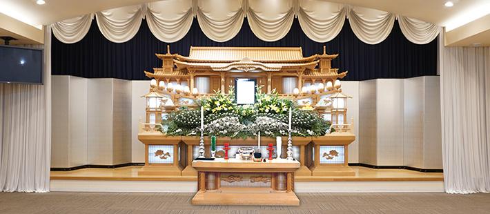 会館葬一般ホール78プランPHOTO