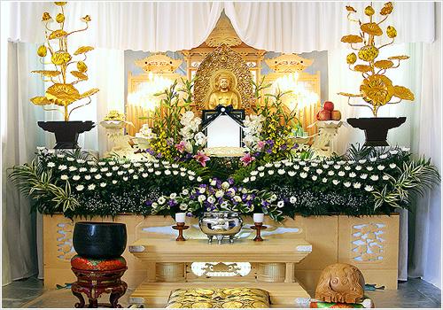 自宅葬・寺院葬会員価格45万円プランPHOTO