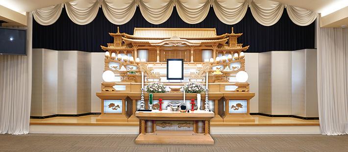 会館葬一般ホール58万円プランPHOTO