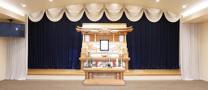 会館葬一般ホール48万円プランPHOTO