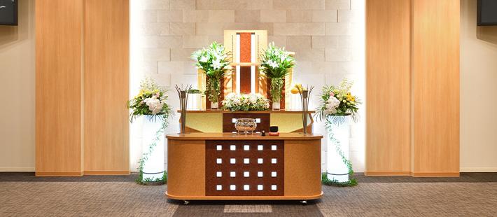 家族葬ホール43万円プランPHOTO